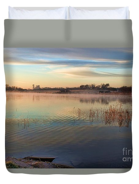 A Gentle Morning Duvet Cover by Diana Mary Sharpton