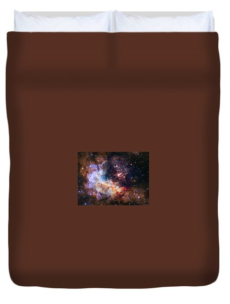 a giant cluster of about 3,000 stars called Westerlund Duvet Cover