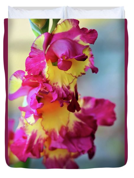 A Gladiolus 3 Duvet Cover