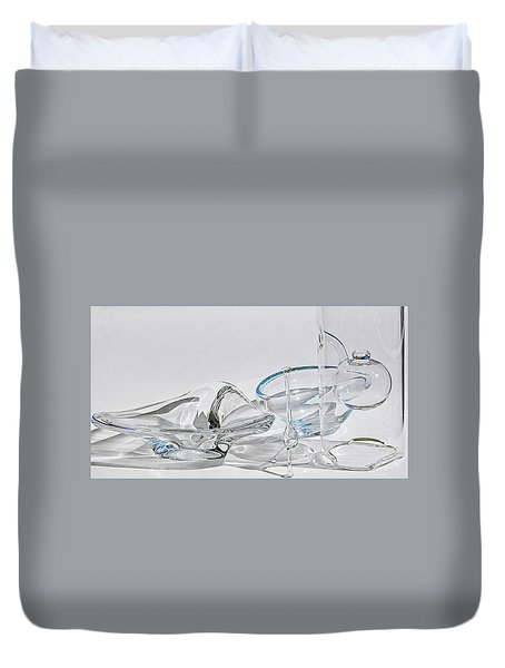 A Glass Menagerie Duvet Cover