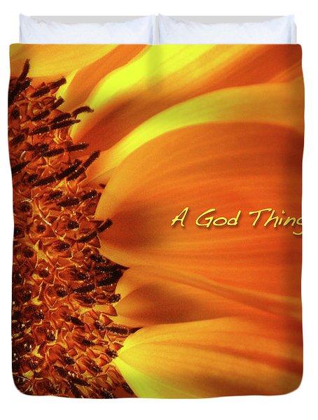 A God Thing-2 Duvet Cover