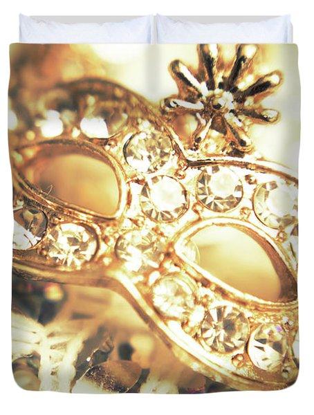 A Golden Occasion Duvet Cover