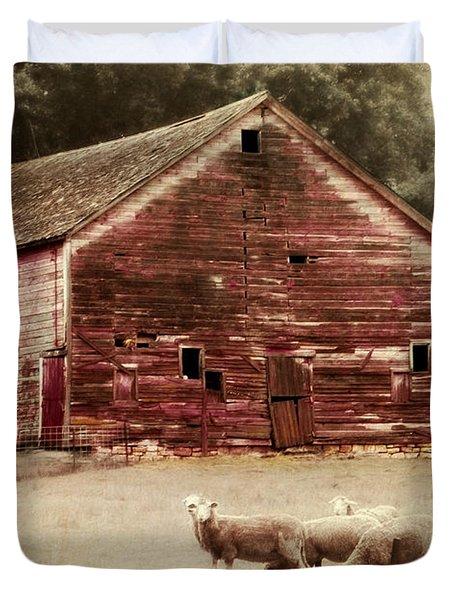 A Grazy Day Duvet Cover by Julie Hamilton