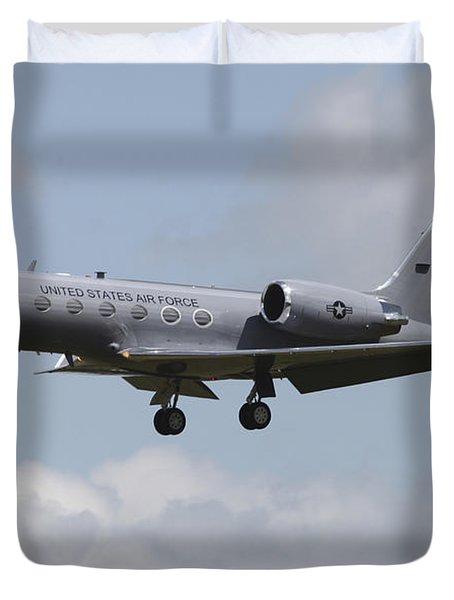 A Gulfstream C-20h Executive Transport Duvet Cover