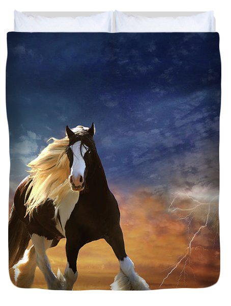 A Gypsy Storm Duvet Cover