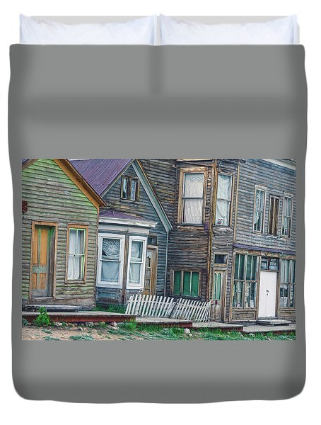 A Haimish Abode From A Bygone Era Duvet Cover