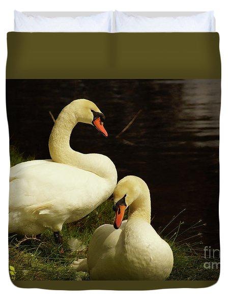A Handsome Pair Duvet Cover