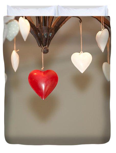 A Heart Among Hearts I Duvet Cover