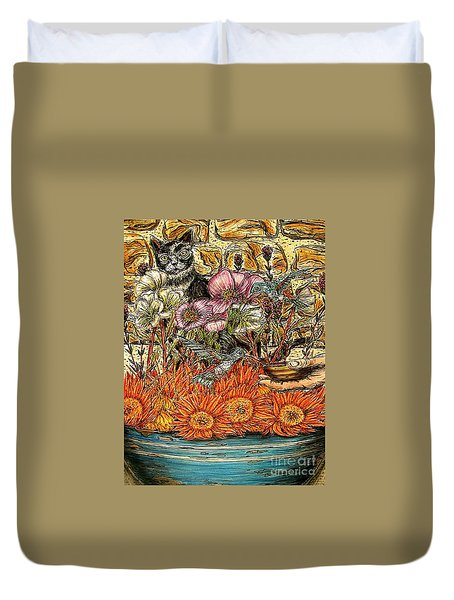 A Helping Hand...? Duvet Cover