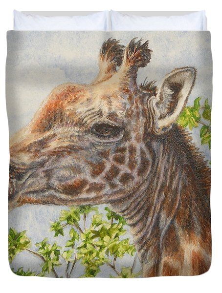 A Higher Point Of View Duvet Cover