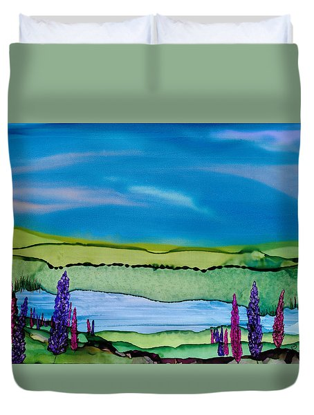 A Hint Of Lochaber Duvet Cover