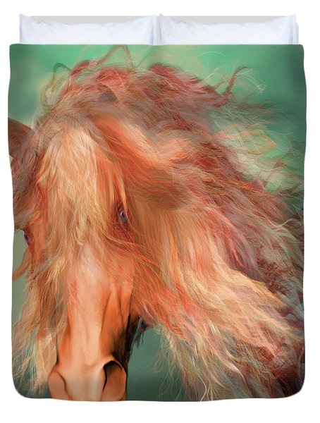 A Horse Called Copper Duvet Cover