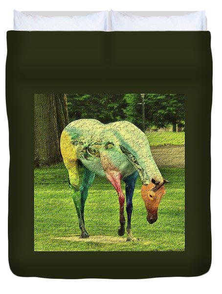 A Horse Is A Horse Duvet Cover
