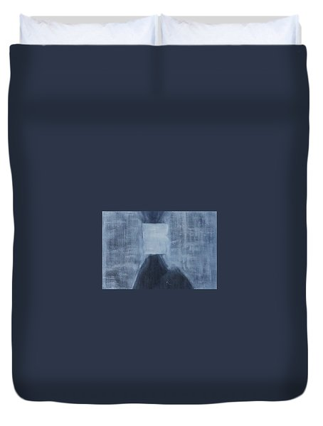 A Human Can Shed Tears Duvet Cover