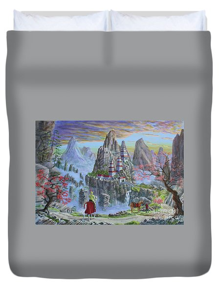 A Journey's End Duvet Cover