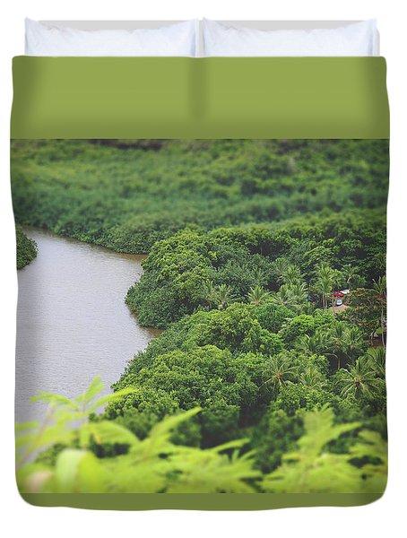 A Jungle Story Duvet Cover