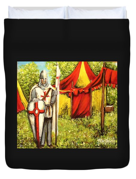 A Knights' Rest Duvet Cover