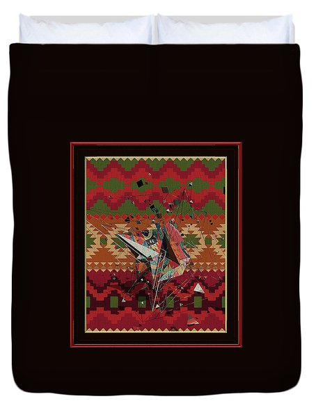 A La Kandinsky C1922 Duvet Cover