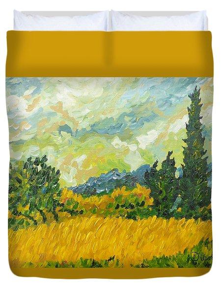A La Van Gogh Duvet Cover