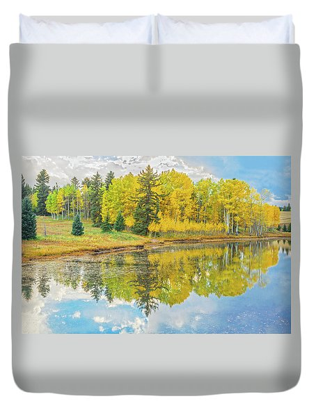A Lakeside Willowwacks  Duvet Cover
