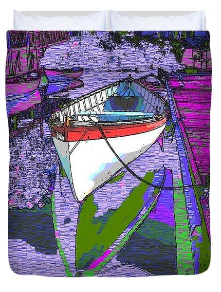 A Lakeside Wonderful Duvet Cover by Tim Allen