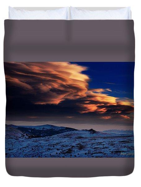 A Lenticular Landscape Duvet Cover