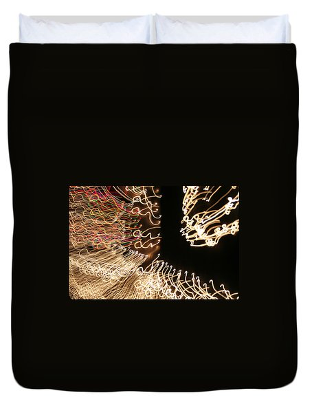 A Light Abstraction Duvet Cover