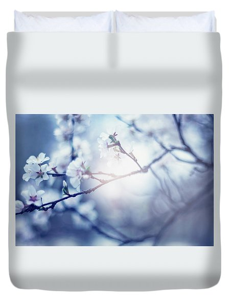 A Light Exists In Spring Duvet Cover