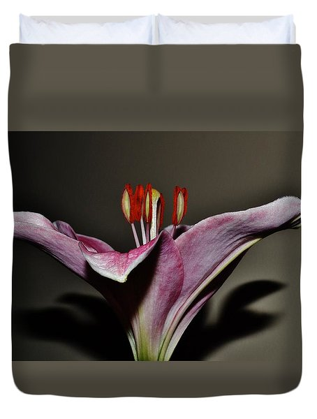 A Lily Duvet Cover