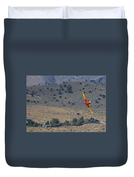 Duvet Cover featuring the photograph A Little Afternoon Fun by John King