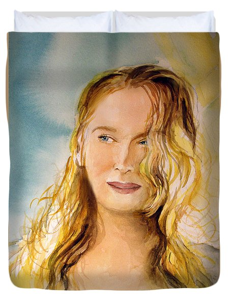 A Little Bit Of Meryl Duvet Cover