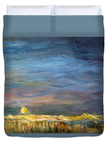 A Little Moon Magic Duvet Cover