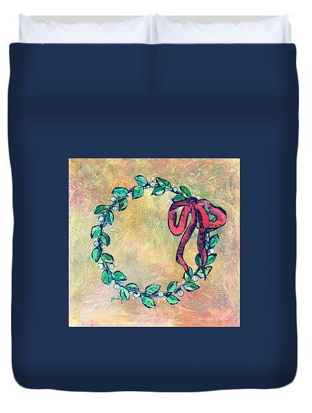 A Little Wreath Duvet Cover