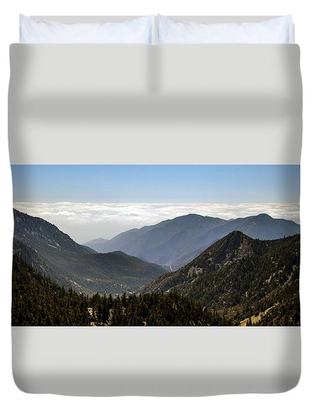 A Lofty View Duvet Cover