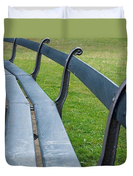 A Long Sit Down Duvet Cover
