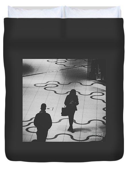 A Love Story That Was Meant To Be Duvet Cover
