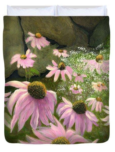 A Lovely Garden Duvet Cover