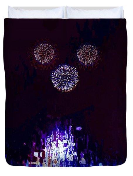A Magical Night Duvet Cover