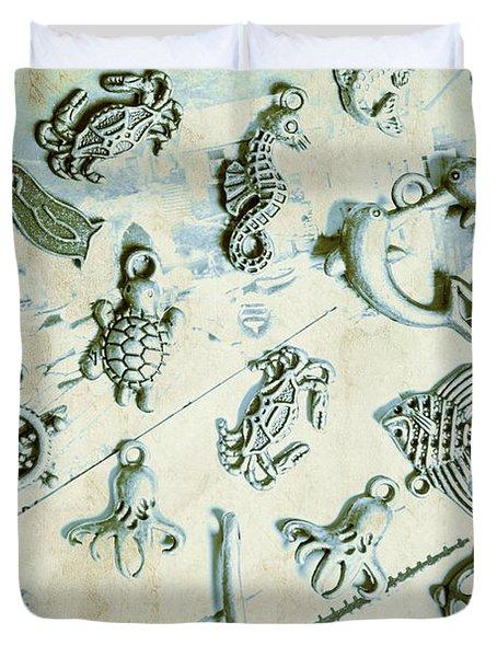 A Maritime Design Duvet Cover