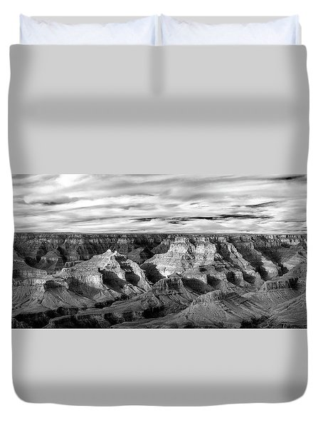 Duvet Cover featuring the photograph A Maze by Jon Glaser