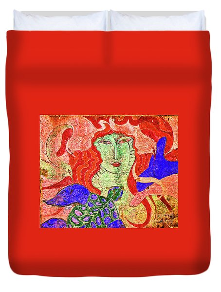 A Mermaids Life Duvet Cover