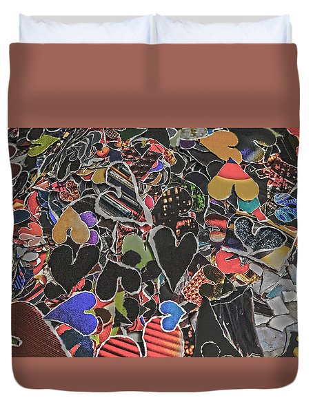 A Million Temples Of Love Minus Some 996452 Duvet Cover
