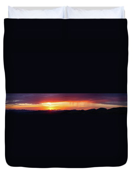 Duvet Cover featuring the photograph  A Moment In Time by Rick Furmanek