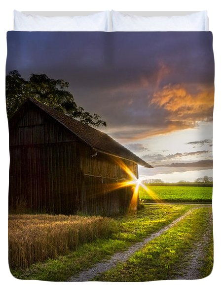 A Moment Like This Duvet Cover by Debra and Dave Vanderlaan
