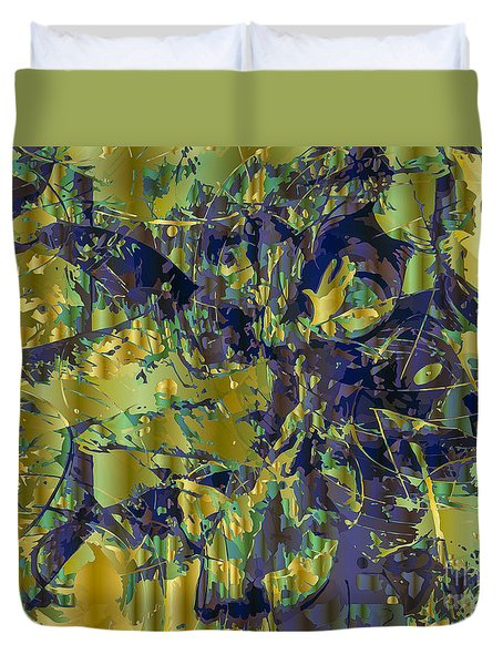 The Sweet Confusion Duvet Cover by Moustafa Al Hatter