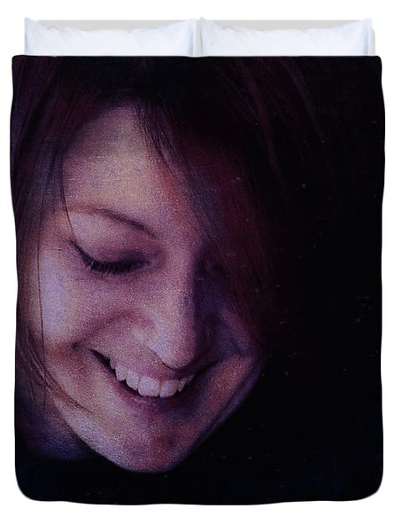A Mother's Smile Duvet Cover