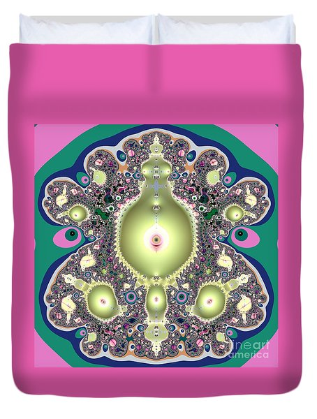 A Mothers Womb Gods Garden Of Life Duvet Cover by Rose Santuci-Sofranko