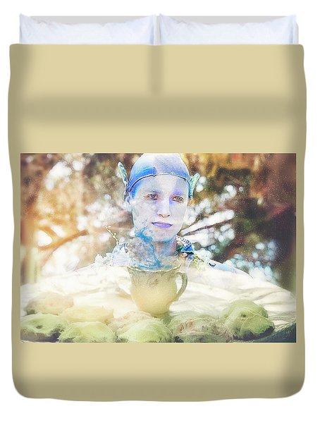 A Mystical Brew Duvet Cover