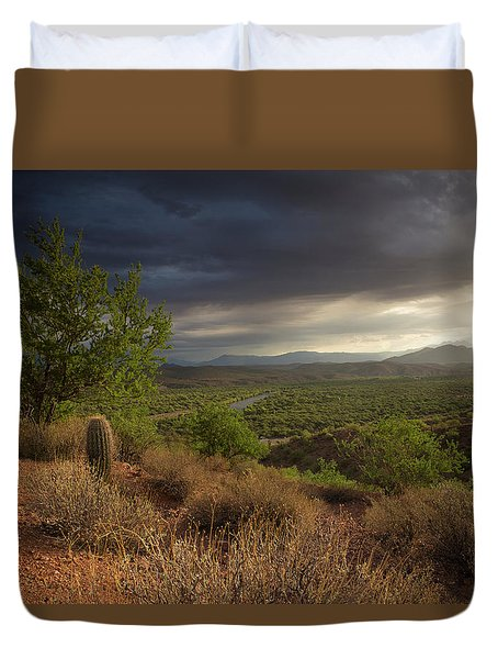 A New Beginning Duvet Cover by Sue Cullumber