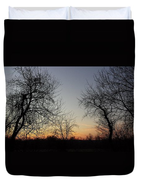 A New Day Dawning Duvet Cover